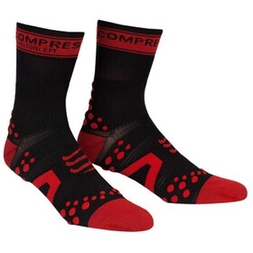Compressport Racing V2 Bike High Socks black/red